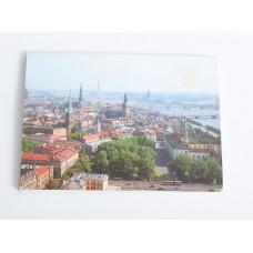 16 gab. Pastkaršu komplekts, fotogrāfijas, pastkartes, Rīga