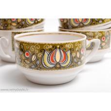 6. gab. Porcelāna tējas vai kafijas tases RPR