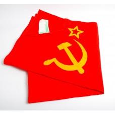 Valsts karogs PSRS, kokvilna, Rīgas audums 1976 gads