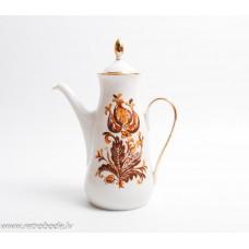 Porcelāna kafijas kanna,  RPR, Rīgas porcelāns