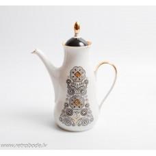 Porcelāna kafijas kanna, daļa no kafijas servīzes Marianna,  RPR
