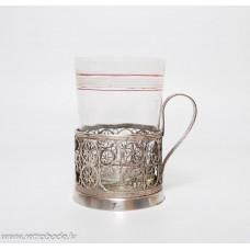 Melhiora glāžu turētājs ar stikla glāzi