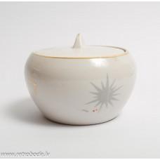 Porcelāna cukurtrauks no servzes Jūrmala, PFF, Rīgas porcelāns