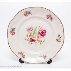 Porcelāna šķīvis, trauks, PFF, 1950-60e gadi
