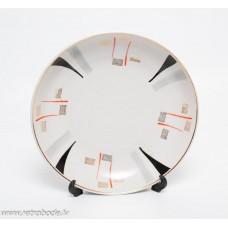 Porcelāna šķīvis, trauks no servīzes Marijka, PFF, Rīgas porcelāns