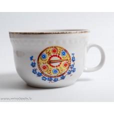 """Porcelāna tējas tase """"Sakta"""" RPR, Rīgas porcelāns"""
