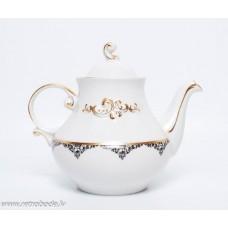 Porcelāna tējkanna Laimdota,  RPR, Rīgas porcelāns