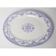 Porcelāna šķīvis, servēšanas trauks, Moselle
