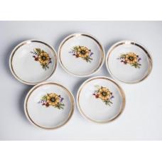 5 gab. komplekts porcelāna ievārijuma trauki, RPR, Rīgas porcelāns