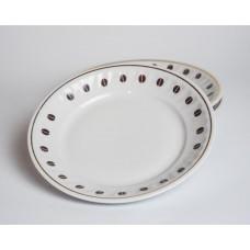 Komplekts 2 gab. Porcelāna deserta šķīvji no kafijas servīzes, RPR