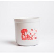 Bērnu porcelāna tējas krūze, RPR, Rīgas porcelāns