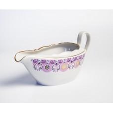 Porcelāna mērces trauks,  RPR, Rīgas porcelāns
