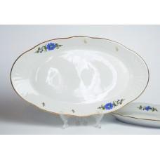 Porcelāna ovāls šķīvis,  RPR