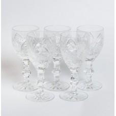 5. gab. Stikla liķiera glāzes, PSRS