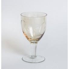 Krāsaina stikla liķiera glāze, roku apstrāde