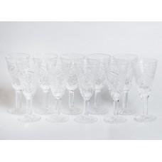 10. gab. Stikla liķiera glāzes, PSRS