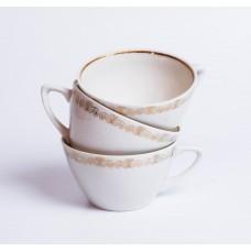 """Komplekts 3 gab. Porcelāna kafijas tases no servīzes """"Ausma"""", PFF"""