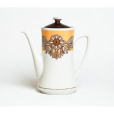 Porcelāna kafijas kanna, Vasara, RPR, Rīgas porcelāns