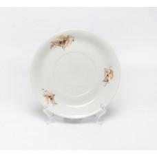 Porcelāna šķīvis, apakštase, Kuzņecovs Latvija