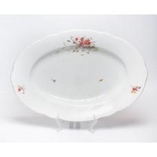 Porcelāna ovals šķīvis, servešanas trauks, Kuzņecovs Latvija