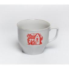 Porcelāna tējas krūze, Vecrīga, RPR, Rīgas porcelāns