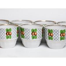 7 gab. Porcelāna krūzes, RPR, Rīgas porcelāns