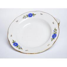 4 gab. Porcelāna zupas šķīvji, RPR Rīgas porcelāns