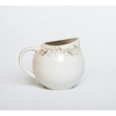 Porcelāna krējuma trauks no servīzes Marijka, PFF, Rīgas porcelāns