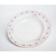 3 gab. Porcelāna zupas šķīvji, RPR Rīgas porcelāns