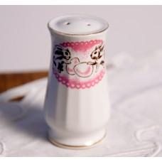 Porcelāna sālstrauks, Lieldienu dekors, RPR