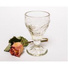 Senlaicīga stikla degvīna glāze, PSRS