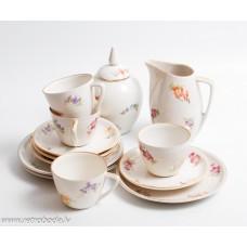 Porcelāna tējas servīze nepilna, RPF