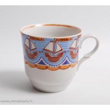 Porcelāna tējas krūze Jūrmala, RPR, Rīgas porcelāns