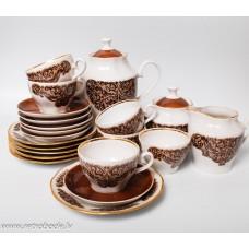 Porcelāna kafijas servīze 6 personām RPR