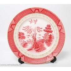 Porcelāna dekoratīvais šķīvis, Double Phuenix N.K.T. Ironstone Japan