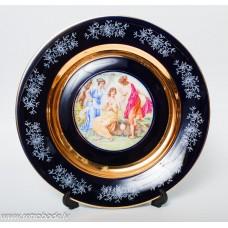 Porcelāna dekorativais šķīvis, Epiag DE CZECHOSLOVAKIA CARLSBAD