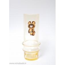 Stikla vāze, Olimpiskais Lācītis, Latvijas stikls