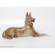 Porcelāna figūriņa, Vācu aitu suns LFZ