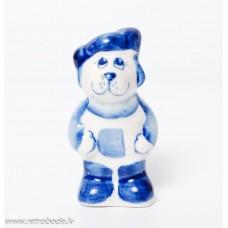 Porcelāna figūriņa, merkekis Gžeļ