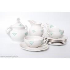 """Porcelāna tējas servīze nepilna, """"Laima"""", RPF"""