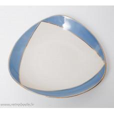 Porcelāna šķīvis, trauks, PFF, Rīgas porcelāns