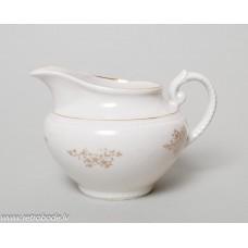 """Porcelāna krējuma trauks no servīzes """"Laima"""" ,  RPF 1950-60. gadi"""