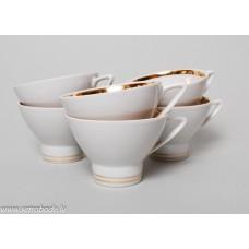 6 gab. Porcelāna kafijas tases