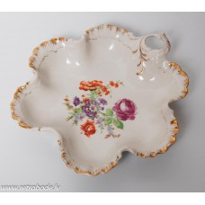 Porcelāna šķīvis, servēšanas trauks, RPF, Rīgas porcelāns