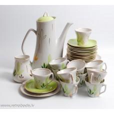 """Porcelāna kafijas servīze nepilna, 12 personām """"Stella"""""""