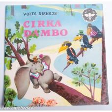 Bērnu grāmata Volts Disnejs, Cirka Dambo