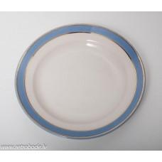 Porcelāna šķīvis ar zelta apmali, RPR