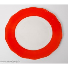Porcelāna deserta šķīvis, trauks, Jessen Rīga