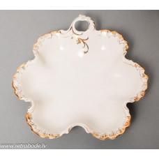 Porcelāna šķīvis, RPF, Rīgas porcelāns