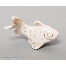 Antikvāra porcelāna figūriņa, Zivs, RFF Rīgas porcelāns